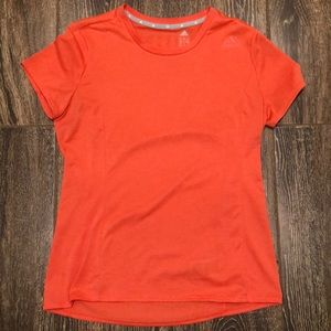 Adidas Climalite Women's Top - Coral Size M